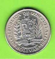 VENEZUELA -  1 Bolivar 1967   KM42 - Venezuela