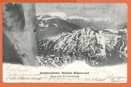W273, JungfrauBahn, Jungfrau, Kleine Scheidegg, Circulée 1909 - BE Berne