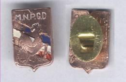 Insigne Du Mouvement National Des Prisonniers De Guerres Et Déportés ( Boutonnière ) - Badges & Ribbons
