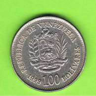 VENEZUELA -  100  Bolivar  1999  KM78 - Venezuela