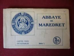 Maredret : Carnet De 16 Cartes De L´abbaye De Maredret (M601) - Anhée