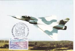 Cartes Maximun  Année 1981 Mirage 2000 - Maximum Cards