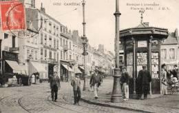 59714CAMBRAIKiosque à Journeaux - Place Du Bois4452Circulée 1910 - Cambrai