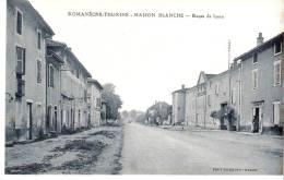 Romanèche-Thorins (Chapelle De Guinchay-Macon)-+/-1925-Maison Blanche-Route De Lyon Vers Saint Jean D´Ardières - Macon