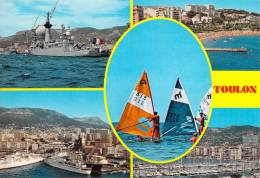 83 TOULON PORT DE GUERRE ET DE PLAISANCE / MULTIVUES - Toulon
