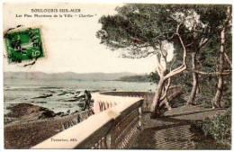 """83 - Var /  BOULOURIS SUR-MER -- Les Pins Maritimes Dela Villa """"Charlier"""" (carte Colorisée). - Boulouris"""