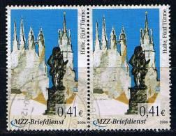 MZZ Briefdienst 2006 O Halle Fünf Türme - Private & Local Mails