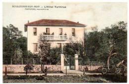 83 - Var /  BOULOURIS -SUR-MER -- L´Hôtel Terminus. PASTORINO, Propriétaire (carte Colorisée). - Boulouris