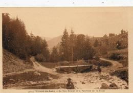 CPA -(38) - VILLARD-de-LANS - Le Bois Damier Et La Passerelle Sur La Fauge - Villard-de-Lans