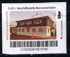 Biberpost 2009 O , Geschäftsstelle Benneckenstein - Privatpost