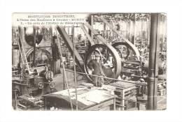 CPA : 03 - Allier : Montluçon : Usine De Machines à Coudre : Hurtu : Coin Atelier Mécanique : Ouvrier  -vue Peu Commune - Montlucon