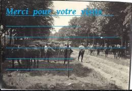 Photo 1915 / 14 Parc De Cantonnement Env De WAILLY 80 Somme Du 6 è Génie ANGERS 49 En Campagne Conflit 1914.18 L - Guerre, Militaire