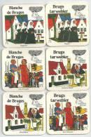 6 Verschillende   Brouwerij De GOUDEN BOOM    REcto Verso - Sous-bocks
