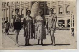 1957   MAR DEL PLATA    PLAYA SHORE  PERSONAS EN LA PLAYA   NIÑOS MUJERES  HOMBRES  OHL - Postkaarten