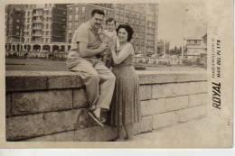 1957   MAR DEL PLATA    PLAYA SHORE  PERSONAS EN LA PLAYA   NIÑOS MUJERES  HOMBRES  OHL - Andere
