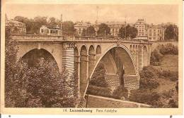 LUXEMBOURG-PONT ADOLPHE-TRAM - Luxembourg - Ville