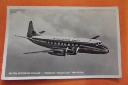 C Photo British European Airways Viscount - 1946-....: Moderne