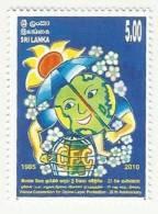Sri Lanka 2010 MNH  Vienna Convention For Ozone Layer Protection, Environment, Drawing, Climate - Sri Lanka (Ceylan) (1948-...)