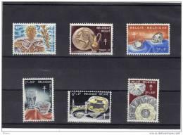 BELGIQUE 1960 COB 1163/8 XX, Départ 30% .  ( MIT131) - Bélgica
