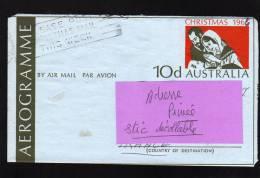 Aérogramme   Déc 1966  --  BURWOOD . Australie - Aerogrammes