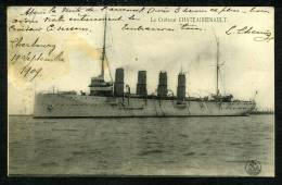 """Le Croiseur """" CHATEAURENAULT """" - Guerre"""