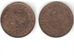 Argentina 1 Centavo 1890 Km 32   Xf+ - Argentine