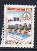 Monaco, Yv 2795 Jaar 2011,  Gestempeld, Zie Scan - Mónaco