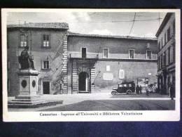 MARCHE -MACERATA -CAMERINO -F.P. LOTTO N°281 - Macerata