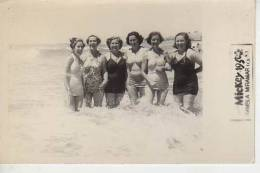 MIRAMAR 1955  PLAYA SHORE  PERSONAS EN LA PLAYA   NIÑOS MUJERES  HOMBRES  OHL - Andere