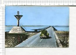 ILE De NOIRMOUTIER -  Passage Du GOIS -   Véhicule Ancien :  203  Peugeot - Ile De Noirmoutier