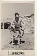 MAR DEL PLATA  1954 PLAYA SHORE  PERSONAS EN LA PLAYA   NIÑOS MUJERES  HOMBRES  OHL - Postkaarten