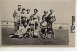 MIRAMAR   AÑO 1954   PLAYA SHORE  PERSONAS EN LA PLAYA   NIÑOS MUJERES  HOMBRES  OHL - Postkaarten