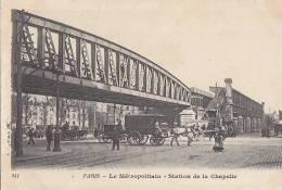 Transports - Métro Métropolitain Aérien - Pont Station - Ouvrages D'Art