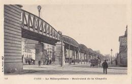 Transports - Métro Métropolitain Aérien - Pont Station - Structures