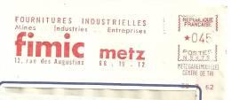 Fournitures, Mines, Entreprises, Industrie - EMA Secap N - Devant D'Enveloppe   (M315) - Minerals