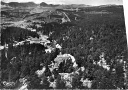 Cpsm 1955 FONT ROMEU, Vue Aérienne Du Calvaire Et De L'ermitage, Au Fond Pistes De Ski (22.2) - France