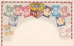 Map & Stamps Of Siam / Thailand , 00-10s - Thaïlande