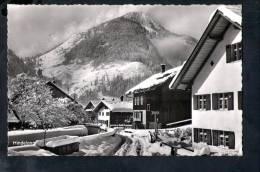 F382 Kurorte Hindelang - Allgäuer Alpen -  Dorfstrasse Imbergerhorn - Photo Kaufmann - Hindelang