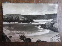 CP FRANCE (M37) BELLE-ILE-EN-MER  (2 Vues) Bangor La Plage D'Herlin Timbre Expéditions Polaires Françaises - Belle Ile En Mer
