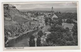 CPSM RADIUM - SOLBAD, KREUZNACH, Format 9 Cm Sur 14 Cm Environ, RHENANIE PALATINAT, ALLEMAGNE - Bad Kreuznach