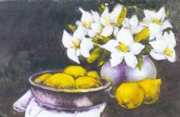 Wenskaart / Carte De Voeux / Greeting Card : FLOWER,BLOEM,FLEUR, STILLEVEN,NATURE MORTE,STILL LIFE,HWANG SANGWON, - Unclassified