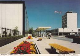 Winnipeg International Airport, Airplane, Winnipeg, Manitoba, Canada, 1950-1970s - Winnipeg