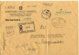 039 - ATTI CATASTALI - TASSA A CARICO DESTINATARIO - 6. 1946-.. Repubblica