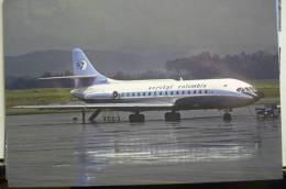 AEROTAL COLOMBIA  CARAVELLE 6R  HK 1778            /   COLLECTION VILAIN N° 767 - 1946-....: Era Moderna