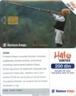 Telefonkarte Serbien  - Tradition - Musik - Jugoslawien