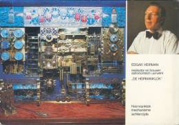 Postkaart / Carte Postale / Postcard : ##DE HEIRMANKLOK## :  Edgar HEIRMAN,ASTRONOMIE,STEKENE,St-NIKLAAS, - Astronomie