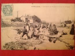 03 Allier MONTLUCON Laveuses Sur Le Cher Et Usine Saint Jacques - Montlucon