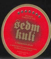 "Beer ""Sedm Kuli"" (""These Seven"",) Brewery Ferdinand In City Benesov, Czech Republic - Sous-bocks"