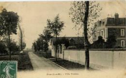 77 - BROU-SUR-CHANTEREINE - Villa Yvonne - Other Municipalities