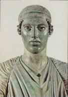 HELLAS/GREECE : Postkaart / Carte Postale / Postcard : Museum Of DELPHI : ## The Charioteer ## : ARCHEOLOGY,MYTHOLOGY, - Ancient World
